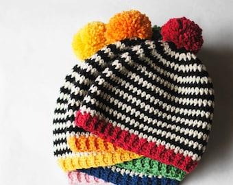 Pop Hat Crochet Pattern
