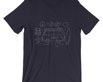 The Fantastic Sixties | Unisex T-Shirt | Clothing | Match | Mini Me | Shirts | Custom | Tops and Tees | Birthday | Unisex | Ringer T-Shirt