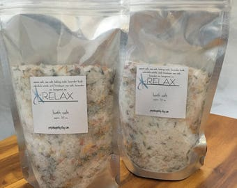 Relax Bath Salts (Large)