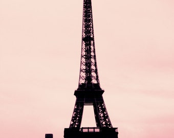 Silence and Noise- Paris Photography, Paris Eiffel Tower Photography Art Print by Leigh Viner