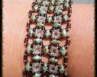 Patchwork Bracelet (2 rows)