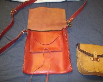 Large leather purse