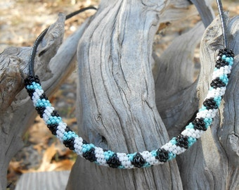 Native American Beaded Necklace, gifts for her