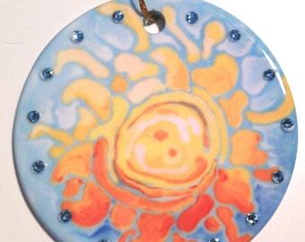 Sunshine Ceramic Ornament