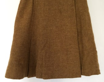 Vintage wool Pendleton Skirt 1970s