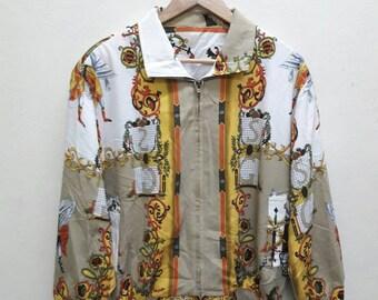 Vintage classic retro Jacket Harrington Old Skool Bomber