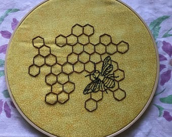Honeycomb Embrodiery