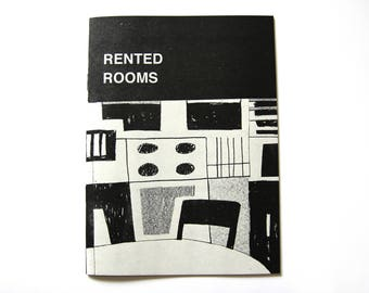 RENTED ROOMS Zine/Comic (RISO)