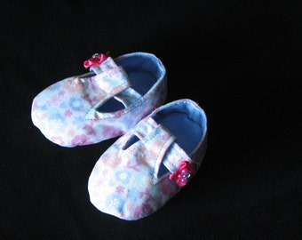 Girls T-Strap Mary Jane Booties