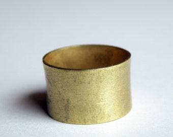 Brass Cuff Ring