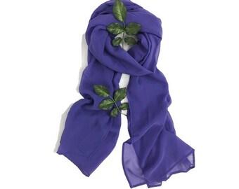 SCARVES | Purple | FASHION Accessories | ALPHONSINA
