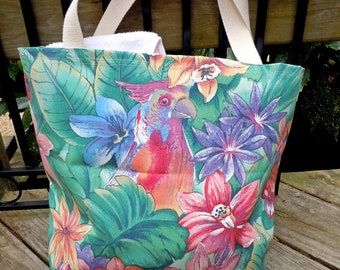 Beach bag, pool bag, Tropical beach bag, waterproof beach bag, beach tote bag, beach tote