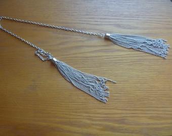 silver chain bookmark, long bookmark, eco-friendly