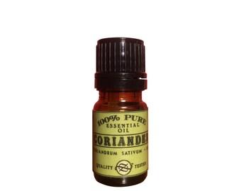 Coriander Essential Oil, Coriandrum sativum, Bulgaria - 5 ml
