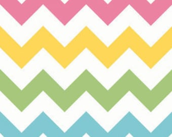 1 yard of Large Girl Chevron by Riley Blake