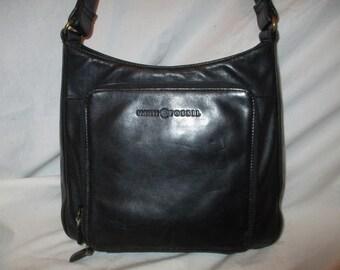 Fossil 75082 leather organizer shoulder bag