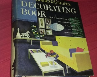 Vintage 60's Mid Century Modern Design Better Homes and Gardens Decorating Book Eames Era Cool