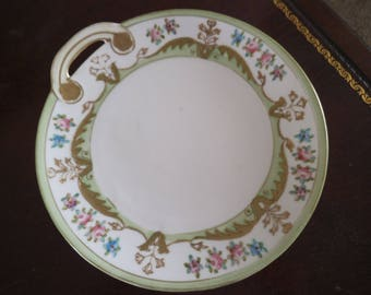 Antique Hand Painted Nippon Plate - Morimura Bros (Old Noritake)