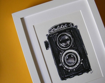 Lubitel Illustration Print