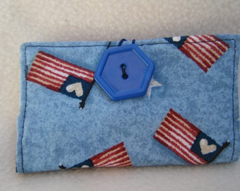 Patriotic Business Card/Gift Card Case - HANDMADE BY ME