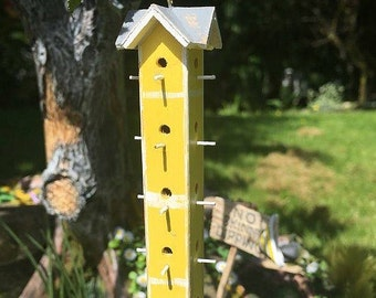 Miniature Amish Birdhouse 1:12 Scale Dollhouse Accessory