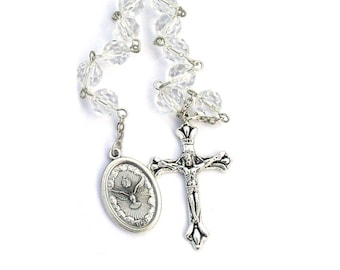 Holy Spirit One Decade Catholic Rosary Beads