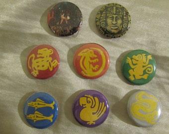 Legends of The Hidden Temple Button