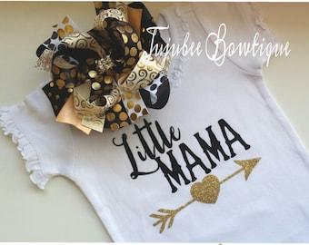Little Mama Shirt Lil Mama sparkle shirt