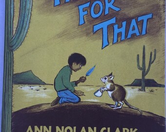 Vintage: This For That by Ann Nolan Clark, Pictures by Don Freeman 1965