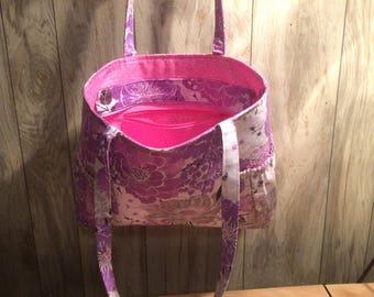 Large Multi ColorTote Bag