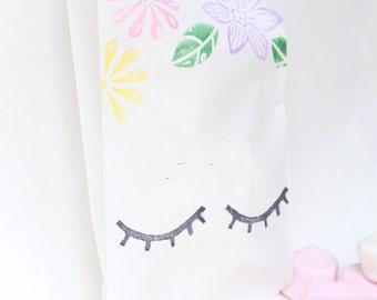 UNICORN Favour Bags - Paper bags, Unicorn, sleeping unicorn, unicorn party, unicorn theme
