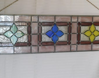 Stain Glass,Decor,Sun Catcher,Window Hanging,Decoration,Room Decor,Wall Hanging,Window Panel,Handmade,Stain Glass Panel,Window Sun Catcher