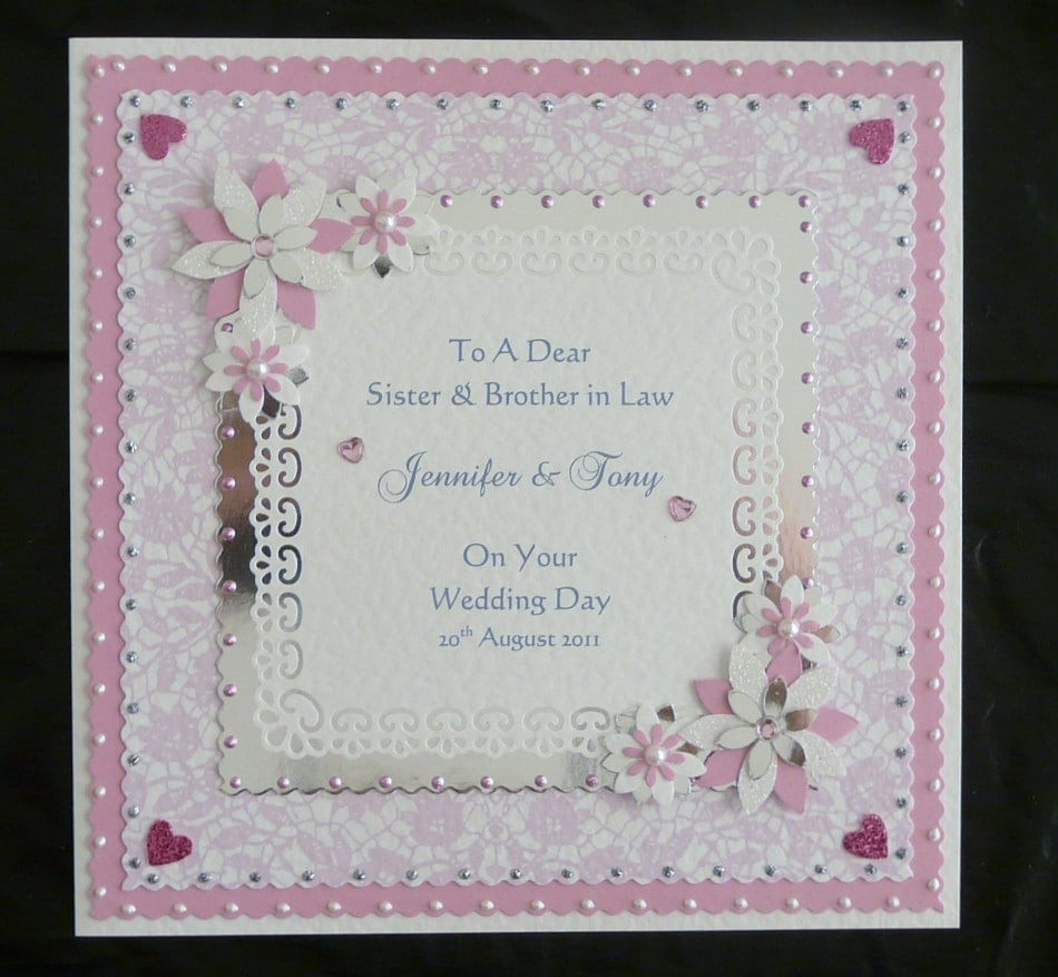 Wedding Day Congratulations Card For