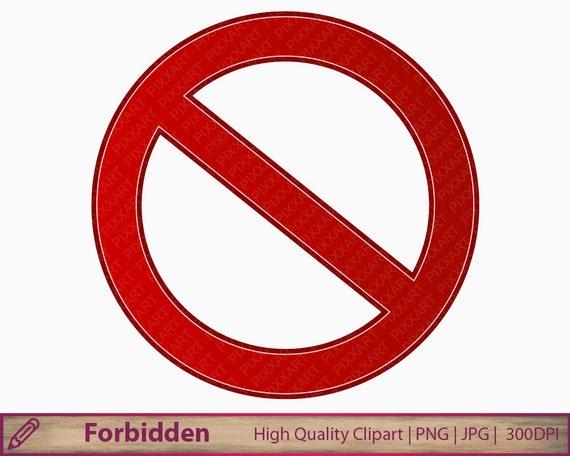 Prohibido Muestra Imágenes Prediseñadas Prohibido Clipart
