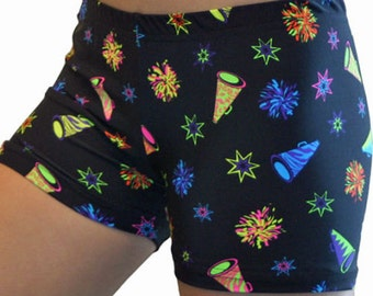 SALE!! Only 7.99 Cheer Spandex Shorts