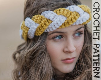 CROCHET PATTERN - Outfitters Braided Headband