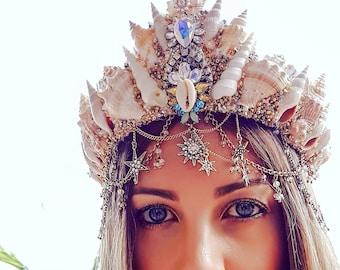 Star Gazer Mermaid Crown