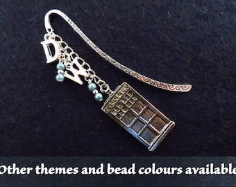Doctor Who beaded bookmark with the theme (and bead colour) of your choice.