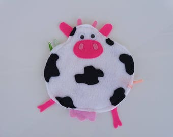 Cow toy for babies. Birthday gift idea.