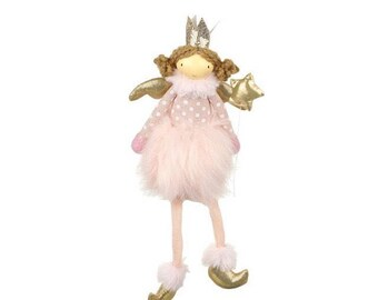 Hanging angel princess with fluffy skirt