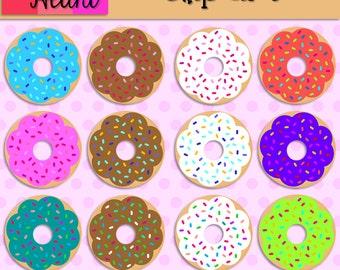 Donuts Clip Art