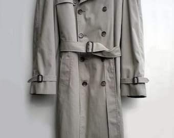 London Fog Trench Coat Vintage Classic