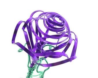 Purple Wire Rose