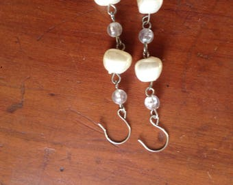 Lovely Pearl Dangles