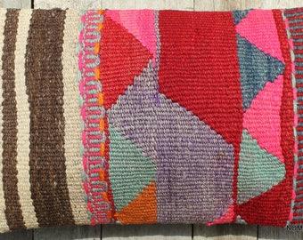 30*50cm Rectangle Lumbar Vintage kilim cushion cover handwoven