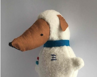 Astronaut dog stuffed animal