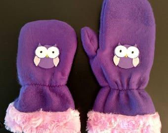Children's custom sewn mittens