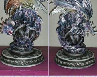 Wondeful polyresin ice dragon