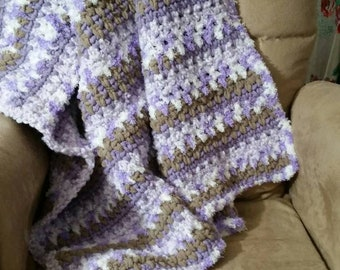 Purple Nest Baby Blanket.