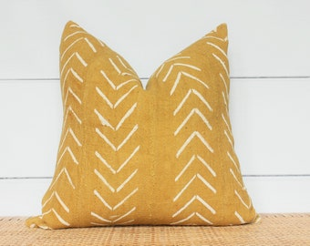 Mudcloth Pillow Cover | Authentic Mudcloth | 18x18 | No269